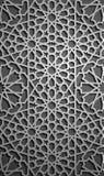 Vector islámico del ornamento, motiff persa elementos redondos islámicos del modelo de 3d el Ramadán Ornamental circular geométri libre illustration