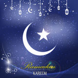 Vector islam logo ramadan background Stock Photo