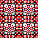 Vector Islamic Art Pattern. Traditional Middle Eastern Colorful Vector Islamic Art Ornaments Pattern Royalty Free Stock Photos