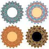 Vector Islamic Floral Ornaments Royalty Free Stock Images