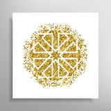 Vector islamic golden pattern Royalty Free Stock Photos