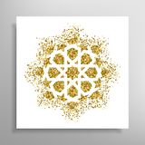 Vector islamic golden pattern Royalty Free Stock Image