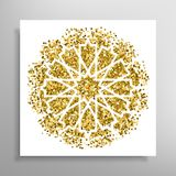 Vector islamic golden pattern Royalty Free Stock Photo
