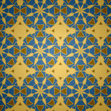 Vector Islamitisch Sier Naadloos Patroon stock illustratie