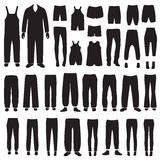 vector isolated pants Royalty Free Stock Photo