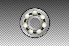 Vector Isolated Realistic Metal Bearing Icon Royalty Free Stock Images