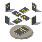Vector Isometric black book Royalty Free Stock Image
