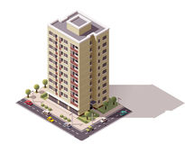 Free Vector Isometric Building Stock Images - 67044944