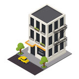 Vector isometric building icon Stock Image