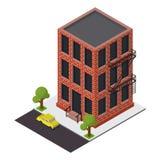 Vector isometric building icon Stock Photo