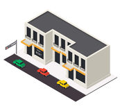 Vector isometric building icon Stock Photo