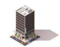 Vector isometric building Stock Image