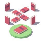 Vector Isometric Classic book Stock Photos