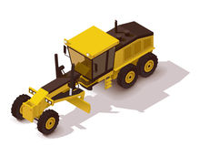 Vector isometric grader Stock Photography