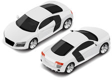 Vector isometric high quality sport car. Transport icon stock photos