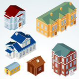 Vector Isometric House #1 Royalty Free Stock Photos