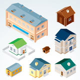 Vector Isometric House #2 Stock Photos