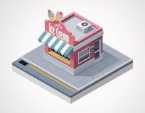 Free Vector Isometric Ice Cream Store Royalty Free Stock Photography - 25813267