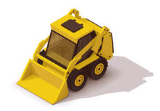 Vector isometric mini loader Stock Images