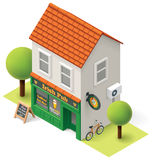 Vector isometric pub Royalty Free Stock Images