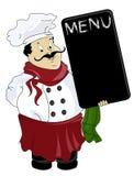 Vector Italian chef. Eps file included Stock Photos