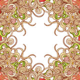 Vector italian pasta pattern Stock Photography