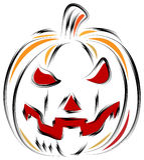 Vector jack-o-lantern Pumpkin Royalty Free Stock Photo