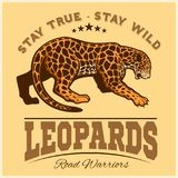 Vector Jaguar leopard Logo emblem symbol stock illustration