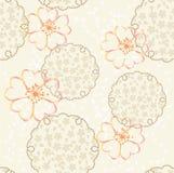 Vector Japanse achtergrond met kersenbloesem Stock Afbeeldingen
