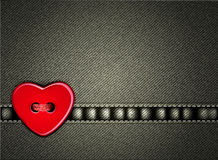 Vector jeans background Valentines Day Royalty Free Stock Images