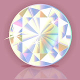 Vector jewelery stone  for design Royalty Free Stock Image