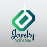 Vector jewelry design royalty free illustration