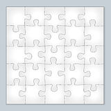 Vector jigsaw puzzle Royalty Free Stock Photos
