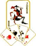 Vector joker Stock Photo