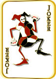 Vector joker Royalty Free Stock Images