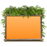 Vector Jungle Frame Royalty Free Stock Images