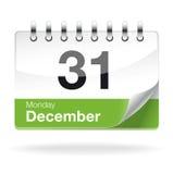 Vector kalender Stock Foto's