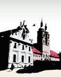 Vector kasteel Royalty-vrije Stock Afbeeldingen