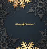Vector Kerstkaart stock illustratie