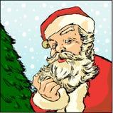 Vector Kerstman Royalty-vrije Stock Afbeelding