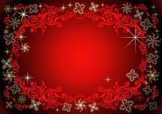 Vector Kerstmisachtergrond. Royalty-vrije Stock Afbeeldingen