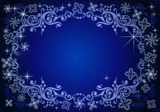 Vector Kerstmisachtergrond. Stock Afbeelding