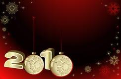 Vector Kerstmisachtergrond. Stock Fotografie