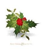 Vector Kerstmisachtergrond Stock Foto