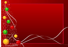 Vector Kerstmisachtergrond Royalty-vrije Stock Fotografie