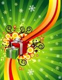 Vector Kerstmisillustratie Royalty-vrije Stock Foto's