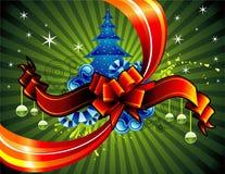 Vector Kerstmisillustratie Stock Afbeelding