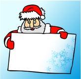 Vector Kerstmiskaart Royalty-vrije Stock Foto