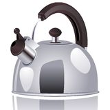 Vector kettle. Stock Images