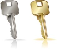 Vector key. Stock Image